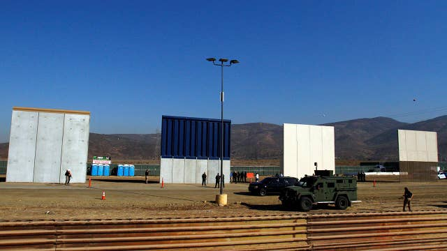 US commandos test border wall prototypes