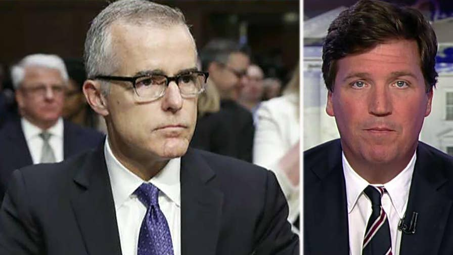 Tucker's Thoughts: Now-former FBI Deputy Director Andrew McCabe is mentioned in the soon-to-be-released FISA memo and he is the subject of a DOJ investigation, The memo also shows the Obama administration accused Trump campaign foreign policy adviser Carter Page of being an agent of Putin. #Tucker