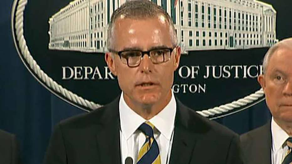 Did the FISA abuse memo force McCabe out?