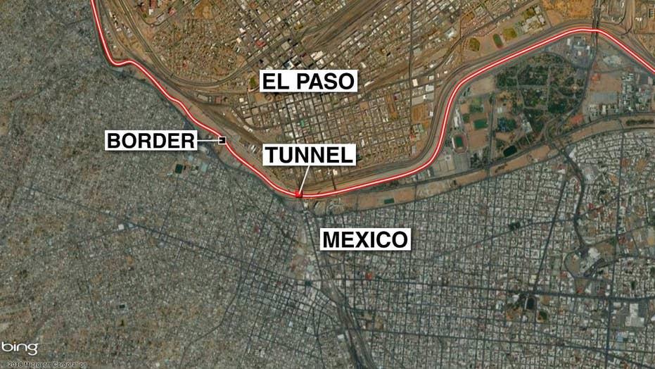Border Patrol agents find tunnel on Texas border