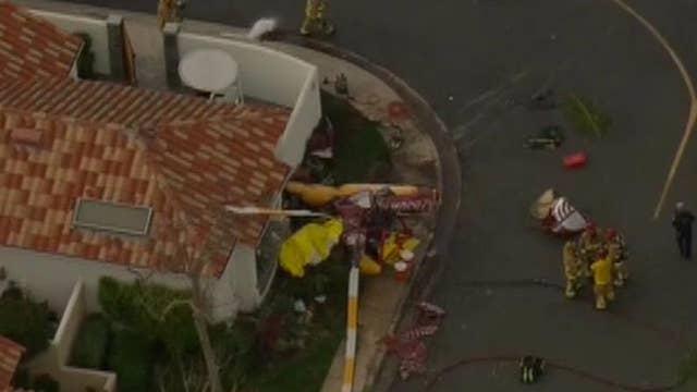 Deadly helicopter crash in Newport Beach, California