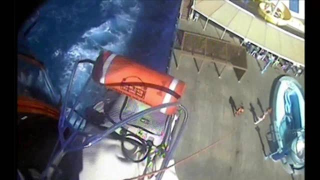 Coast Guard rescues different Carnival cruise passengers, in same day