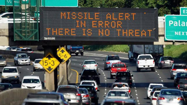 Worker who sent false missile alert believed threat was real