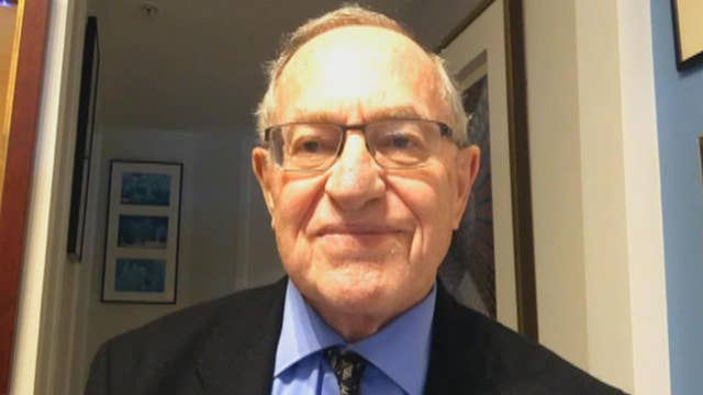 Dershowitz warns against rush to charges in FBI probe