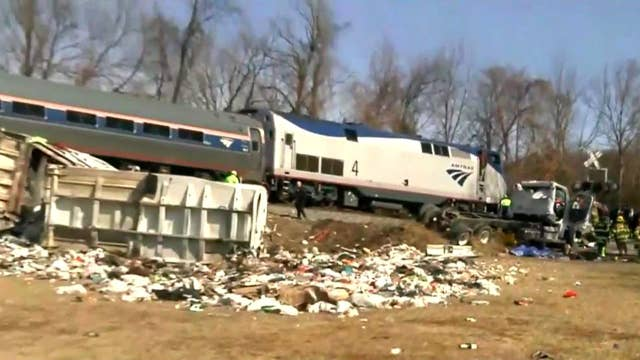 Rep. Walker: Train made 'direct impact' en route to retreat