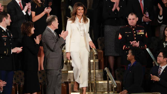 Melania Trump's State of the Union outfit causes a stir