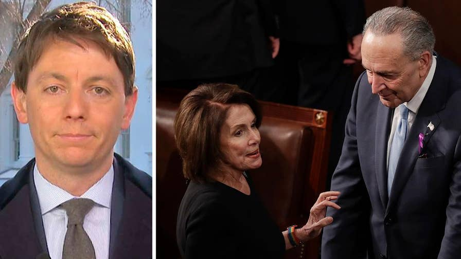 On 'America's Newsroom,' deputy press secretary Hogan Gidley reacts to Democrats sitting through the speech and if the president will release the FISA surveillance memo.