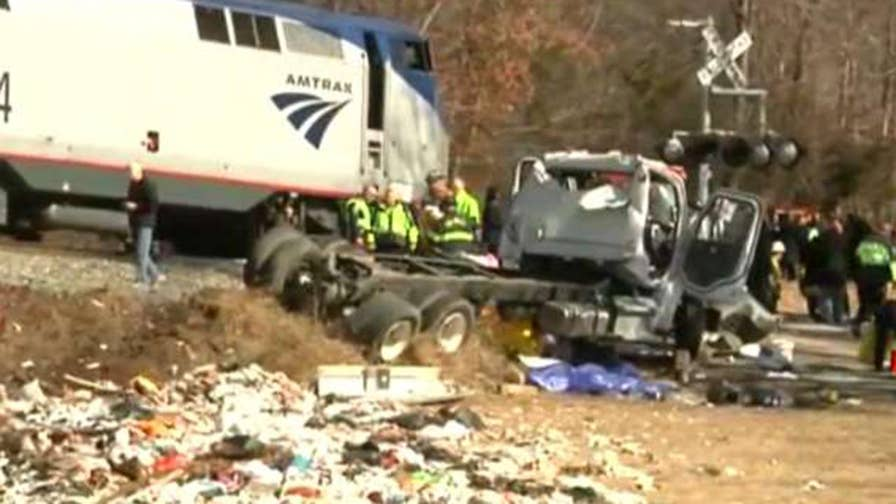 Rep. Sessions describes the injuries to his colleagues after the train they were riding to a Republican retreat collided with a dump truck on the tracks.