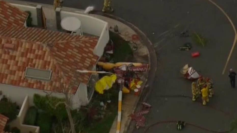 Deadly helicopter crash in Newport Beach, California