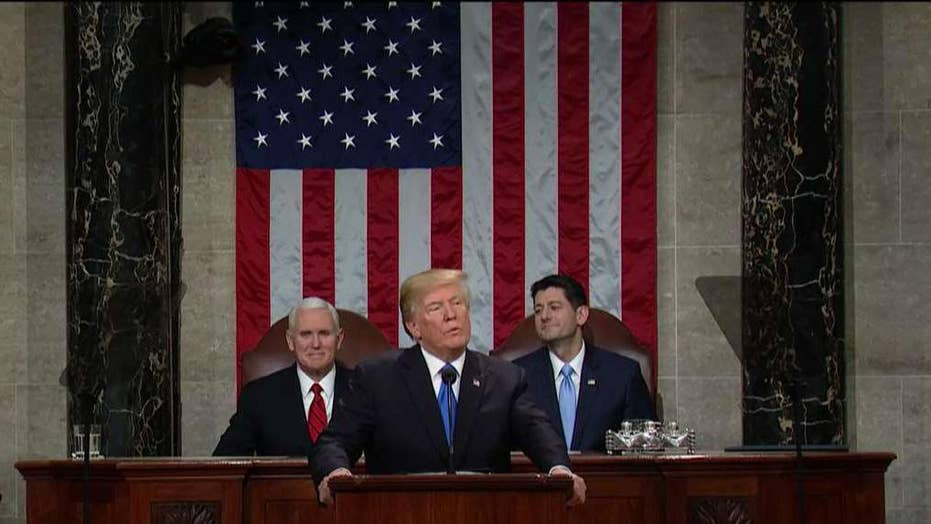 Part 2 of President Trump's 2018 State of the Union Address
