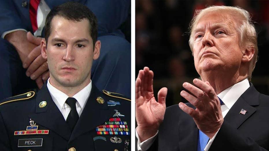 President Trump praises Iraq War hero at SOTU
