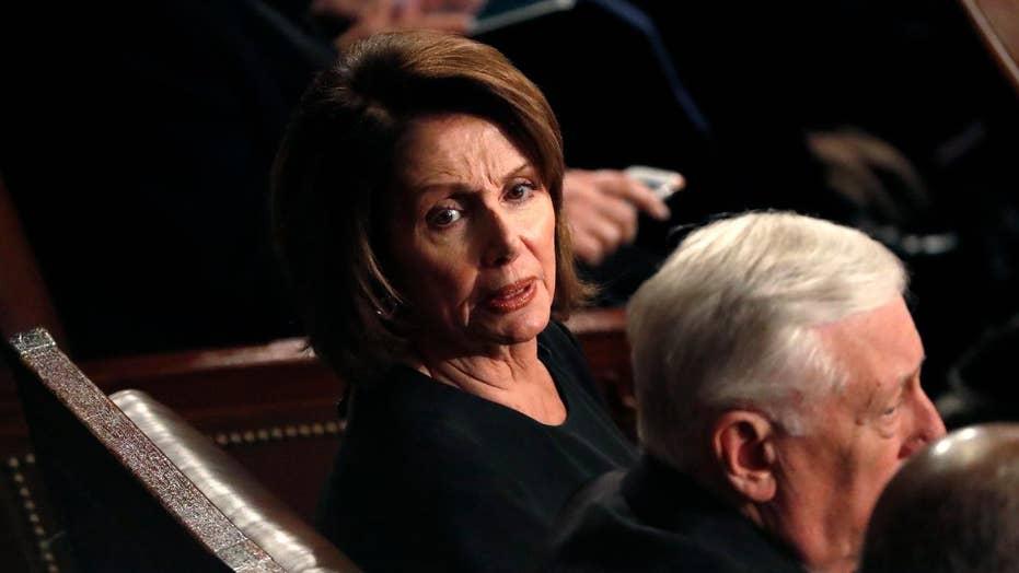 Democrats sulk as Trump touts economic accomplishments