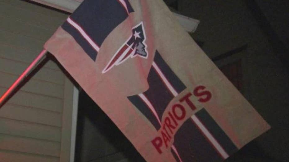 Battle brewing over Patriots flag in Eagles territory