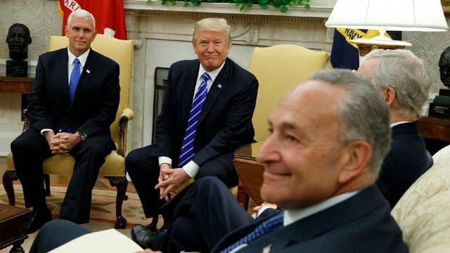 Eric Shawn reports: President Trump vs. Sen. Schumer