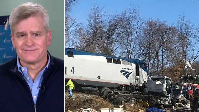 Sen. Cassidy on rushing to aid of injured in train crash