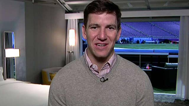 Eli Manning on if the Eagles can beat the Patriots