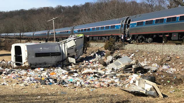 NTSB investigating the cause of the GOP train crash