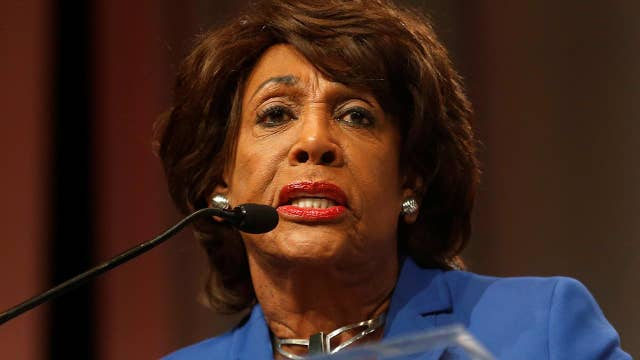 Maxine Waters calls Trump a 'divisive and shameful racist'