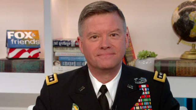 Four-star general reacts to teacher's anti-military rant