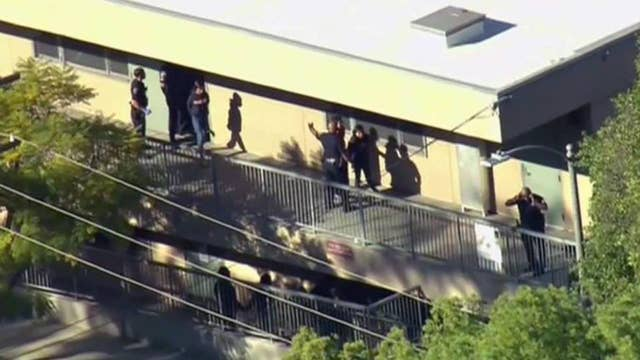 Police: 2 students shot inside Los Angeles middle school