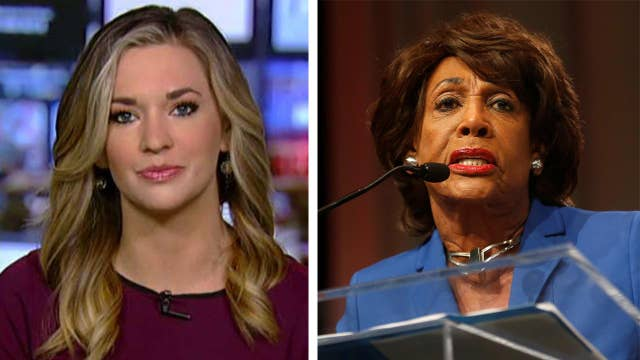 Katie Pavlich: Rep. Maxine Waters seems 'triggered'