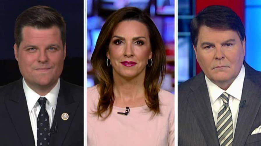 Rep. Matt Gaetz, Sara Carter and Gregg Jarrett discuss on 'Hannity.'