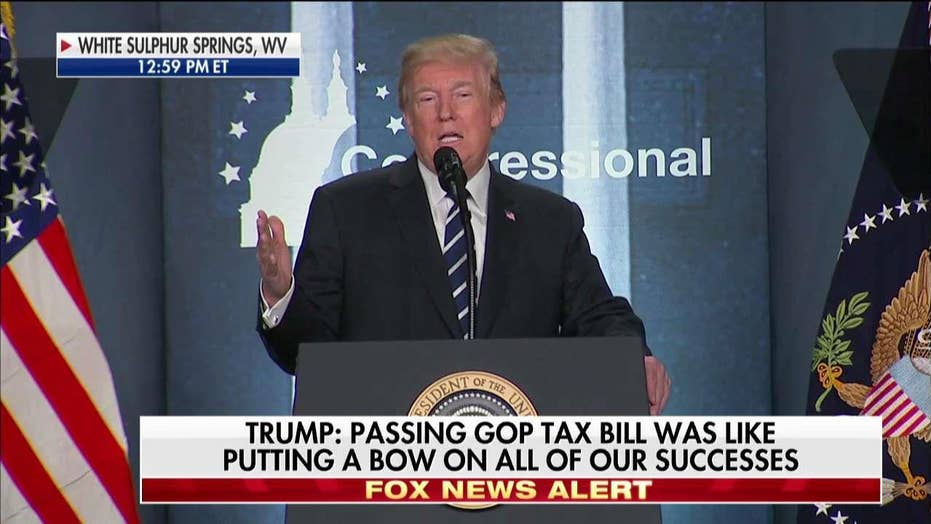 Trump: Pelosi's 'crumbs' comment is like Hillary's 'deplorables.'