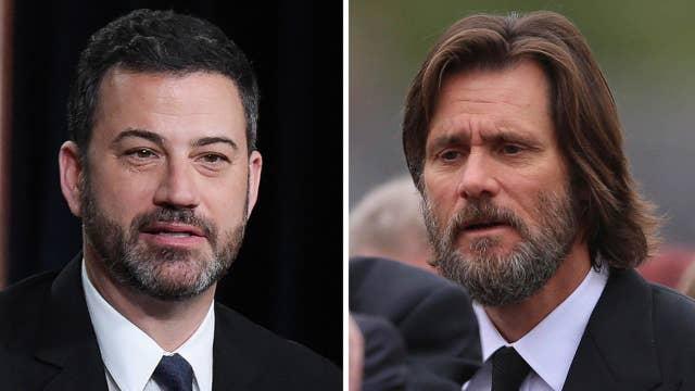 Kimmel crashes; Carrey case dismissed
