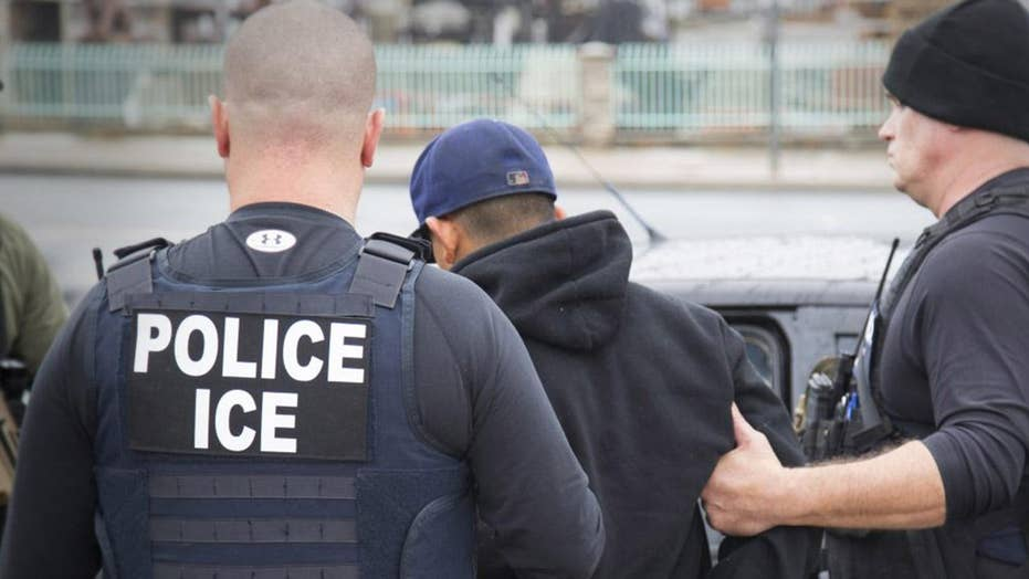 ICE increases courtroom arrests, Trump blasts Dems over DACA