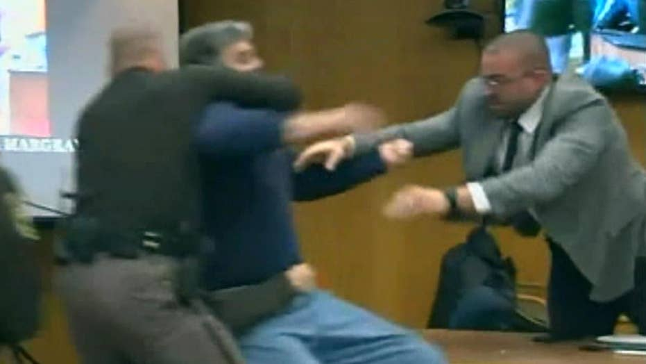 Victim's father charges Larry Nassar at sentencing hearing