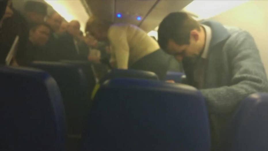 Fire breaks out aboard Russian plane