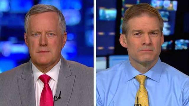 Reps. Meadows and Jordan talk revelations in FISA memo