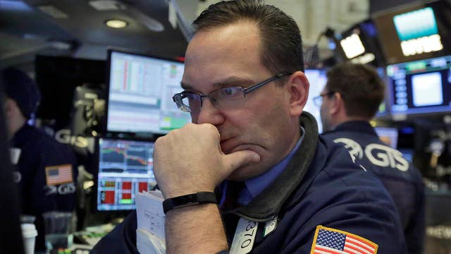 Stocks sell off as fear of rising interest rates takes hold