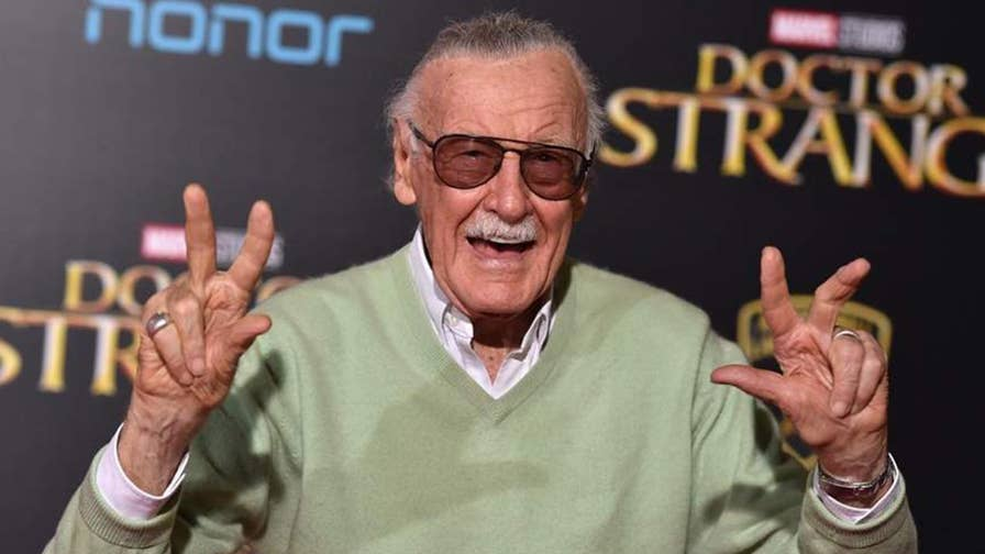 Hollywood Nation: 95-year-old Marvel Comics icon is back home after being hospitalized for an irregular heartbeat.
