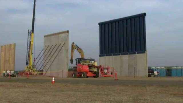 Border wall prototypes prove impenetrable in testing