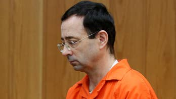 Disgraced gymnastics doctor sentenced for sexual conduct charges in Michigan.