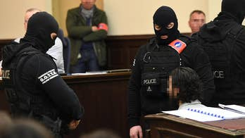 Salah Abdeslam the lone surviving member of ISIS terror cell behind deadly 2015 attacks on Paris makes first appearance in public since arrest nearly two years ago.