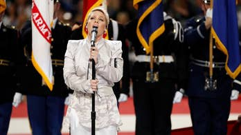 Fox411: Fans are cheering Pink's performance of the National Anthem at Super Bowl LII, especially after learning she did it while battling the flu.
