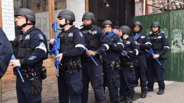 Press claims president is waging war on law enforcement