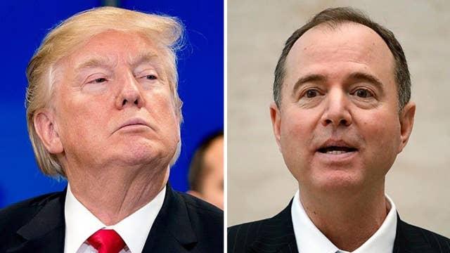 Trump slams Schiff on Twitter as Dems push back on memo