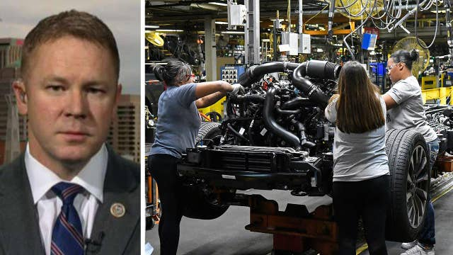 Rep. Davidson: American manufacturing is winning under Trump