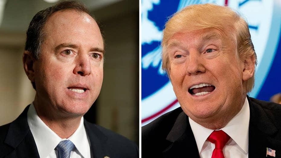Schiff swings back at Trump in Twitter war over memo