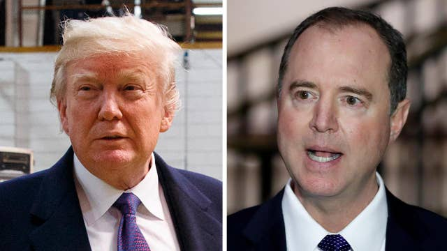 Trump feuds with Schiff over the memo on Twitter