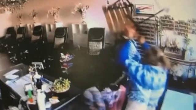 Carjacking suspect attacks women at LA nail salon