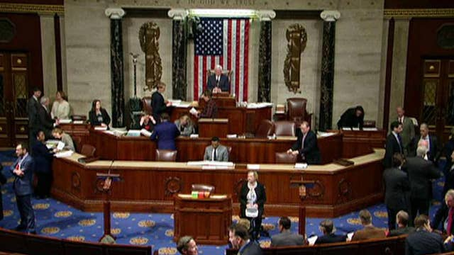 House set to vote on interim spending bill