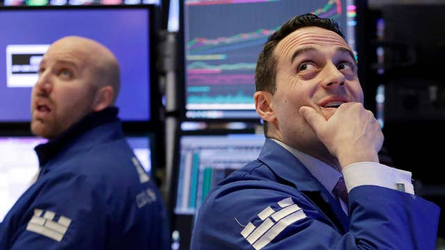 Stock market plunges, loses gains from 2018