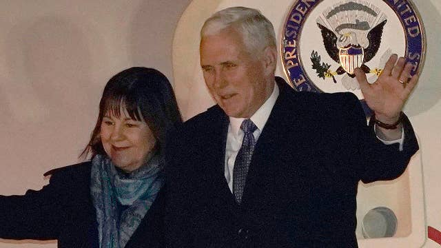 Pence won't rule out talks with North Korea during Olympics