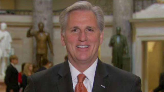 Rep. McCarthy on funding the military, deal for Dreamers