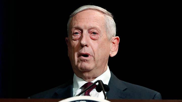 Defense Secretary Mattis says US military edge has eroded