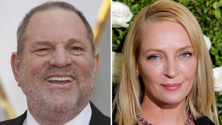 Fox411: Uma Thurman posted footage of the car crash she suffered while filming 'Kill Bill,' in an effort to expose the abuse she claims to have endured by disgraced film producer Harvey Weinstein.